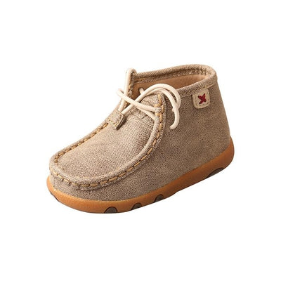 Twisted X Infant Driving Moccasins – Dusty Tan ICA0005