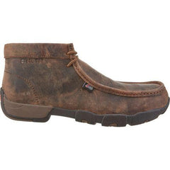 Justin Men's Casuals Driver Moc Steel-Toe Work Boots 235