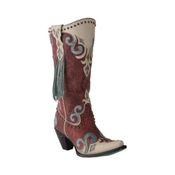 WOMEN'S RED ROYAL LANE BOOT LB0344E