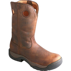 Mens Twisted X Taupe Waterproof All Around Cowboy Boot - Round Toe - MABW001