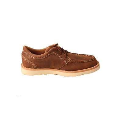 Twisted X Men's Casual Shoe – Oiled Saddle MCA0015