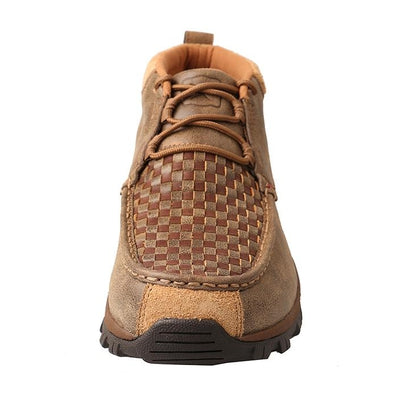 Twisted X Men's Hiker Shoe – Woven Brown/Bomber MHK0008