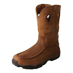Men's Hiker Boot – Distressed Saddle/Saddle MHKBCW1