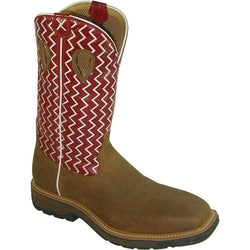 Men's Twisted X Lite Pull-On Work Boot - Square Toe - MLCW001