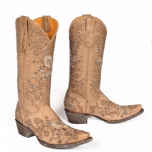 LADIES OLD GRINGO BONE SHELBY L2208-8 LADIES