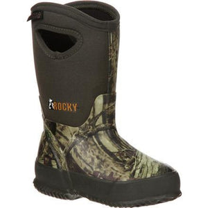 ROCKY CORE BIG KIDS' RUBBER WATERPROOF 400G INSULATED PULL-ON BOOT RKYS119