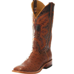 Men's Anderson Bean Rum Mad Dog Full Quill Cowboy Boots S1099