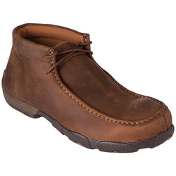 Twisted X Mens Steel Toe Driving Mocs D Toe - MDMST01