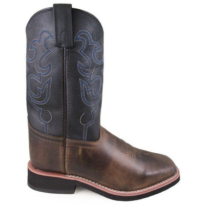 Toddlers Smoky Mountain Square Toe Cowboy Boots 5005T