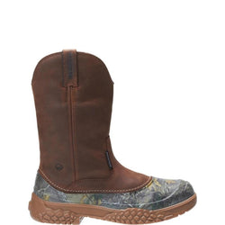 "Wolverine Mens Yak 10"" Waterproof Tan Camo Boot W190021"