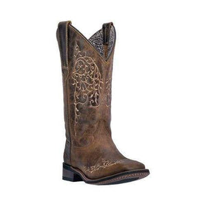 Women's Laredo Ivy Cowgirl Boot 5677 Taupe Leathe