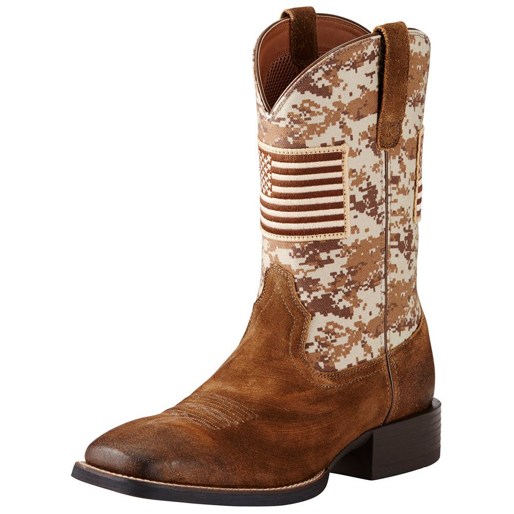 10019959 Ariat Men's Sport Patriot Western Boots