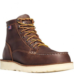 "Daneer BULL RUN MOC TOE 6"" BROWN STEEL TOE 15564"