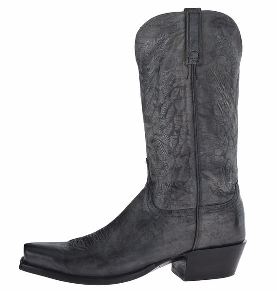 HL1513.73 Stonewash Anthracite Goat Men's Lucchese Western Boots