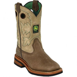 JD2311 John Deere Kid's Johnny Popper Western Boots