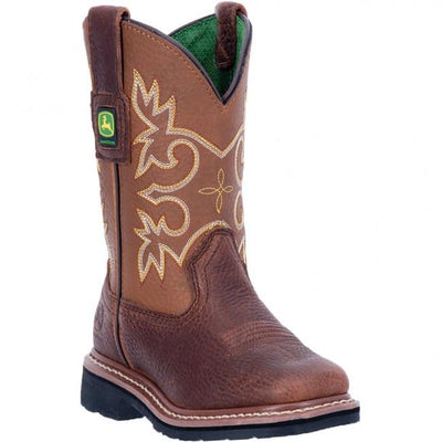 e65b397e6 JD2342 John Deere Kid's Johnny Popper Western Boots – Country View ...