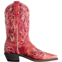 3125 Laredo Women's No More Drama Western Boots - Red