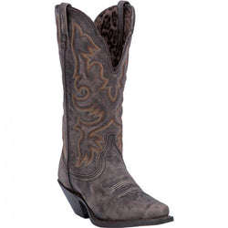 51079 Laredo Women's Access Western Boots - Black/Tan