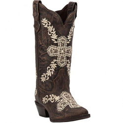52174 Laredo Women's Cross My Heart Western Boots