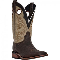 7886 Laredo Men's Collared Western Boots - Brown