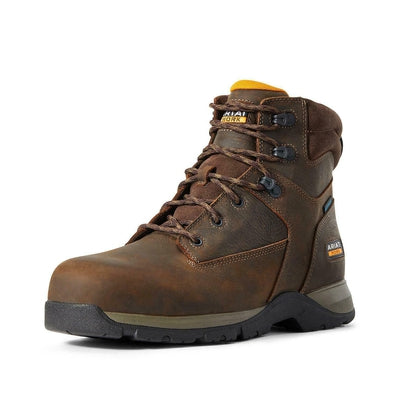 Ariat Men's Edge Lite Waterproof Lace-Up Work Boot - Composite Toe - 10029029