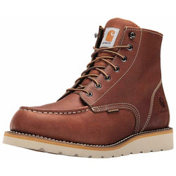 Carhartt Men's CMW 6175 6-in Waterproof Tan Wedge Soft Toe Work Boot