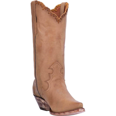 Dan Post Women's Denise Leather Western Boots Camel DP3779