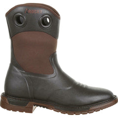 Rocky RKW0243 Men's Original Ride FLX Rubber Boots Square Toe Western Shoes
