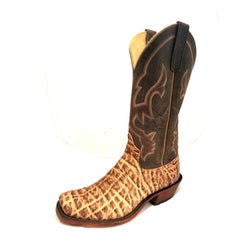 MEN'S ANDERSON BEAN WESTERN BOOTS EXOTICS! SQUARE TOE MADE IN USA 320032