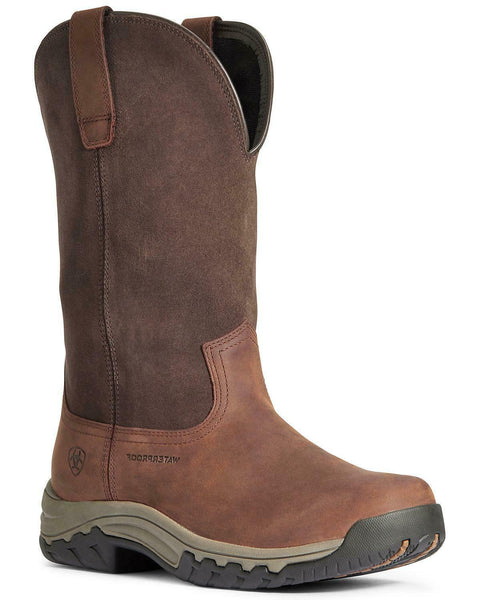 Ariat Women's Terrian Waterproof Western Work Boot - Soft Toe - 10033927