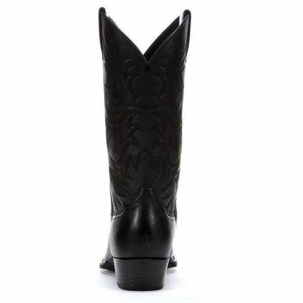 MENS ARIAT BLACK HERITAGE WESTERN COWBOY BOOT 10002218