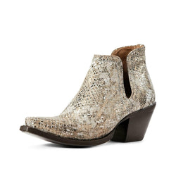 Ariat® Ladies Metallic Snake Dixon Bootie 10029650