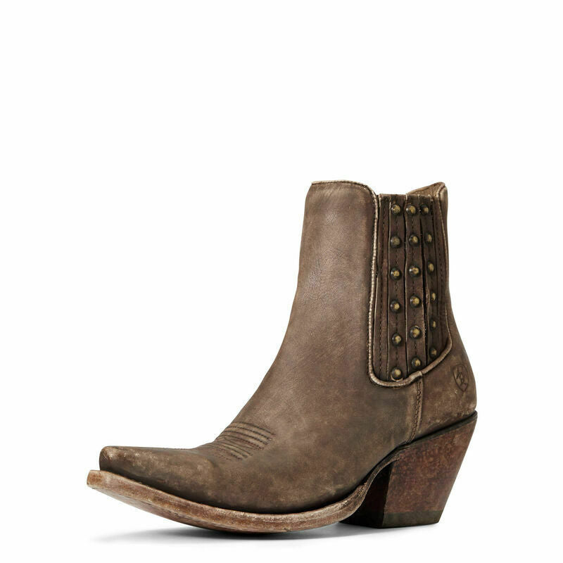 Women's Ariat Eclipse Naturally Distressed Brown X Toe Boot 10033889