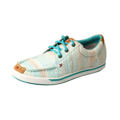 Twisted X Ladies Hooey Blue/Multi Lopers WHYC004