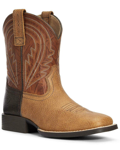 Ariat Boys' Lil Hoss Western Boot - Square Toe - 10034069