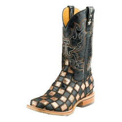 Tin Haul Western Boots Womens Ooh La La Brown 14-021-0077-1383