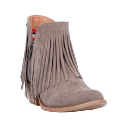 "Dingo Fashion Boots Womens Jerico Round Toe 5"" Shaft Fringe DI133"