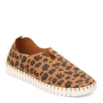Ilse Jacobsen Tulip Slip-On Leopard Casual Shoes