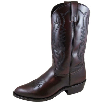 Smoky Mountain Men's Denver Cherry Western Boot - Medium Toe - 4036