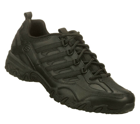 76492 BLK SKECHERS WOMEN WORK SHOES NURSE COMFORT SLIP RESISTANT
