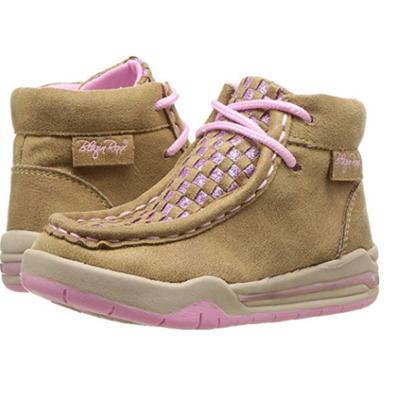 M&F Western Kids Womens Lauren (Toddler) LIGHT UP Moc Shoes 443000708
