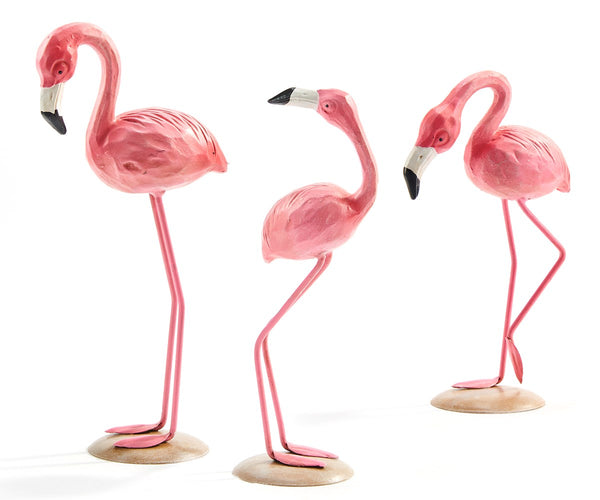 Flamingo Statuary, 3 Asst.