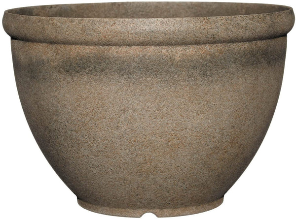 "12"" Bellina Planter Fossil - Containers"