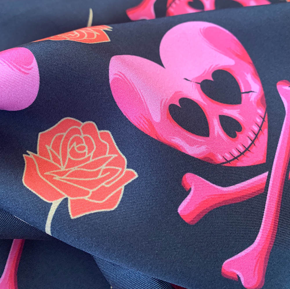 Its a Love/Hate Thing 100% Silk Twill Scarf