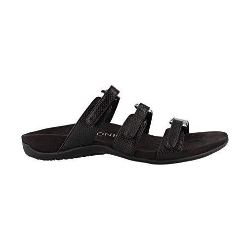 Women's by Otha heel- Aubrey Slide Sandal Black