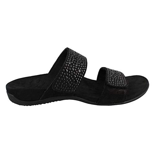Women's Rest Samoa Slide Sandal-Black