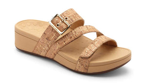 Women's Pacific Rio Platform Sandal - Gold Cork