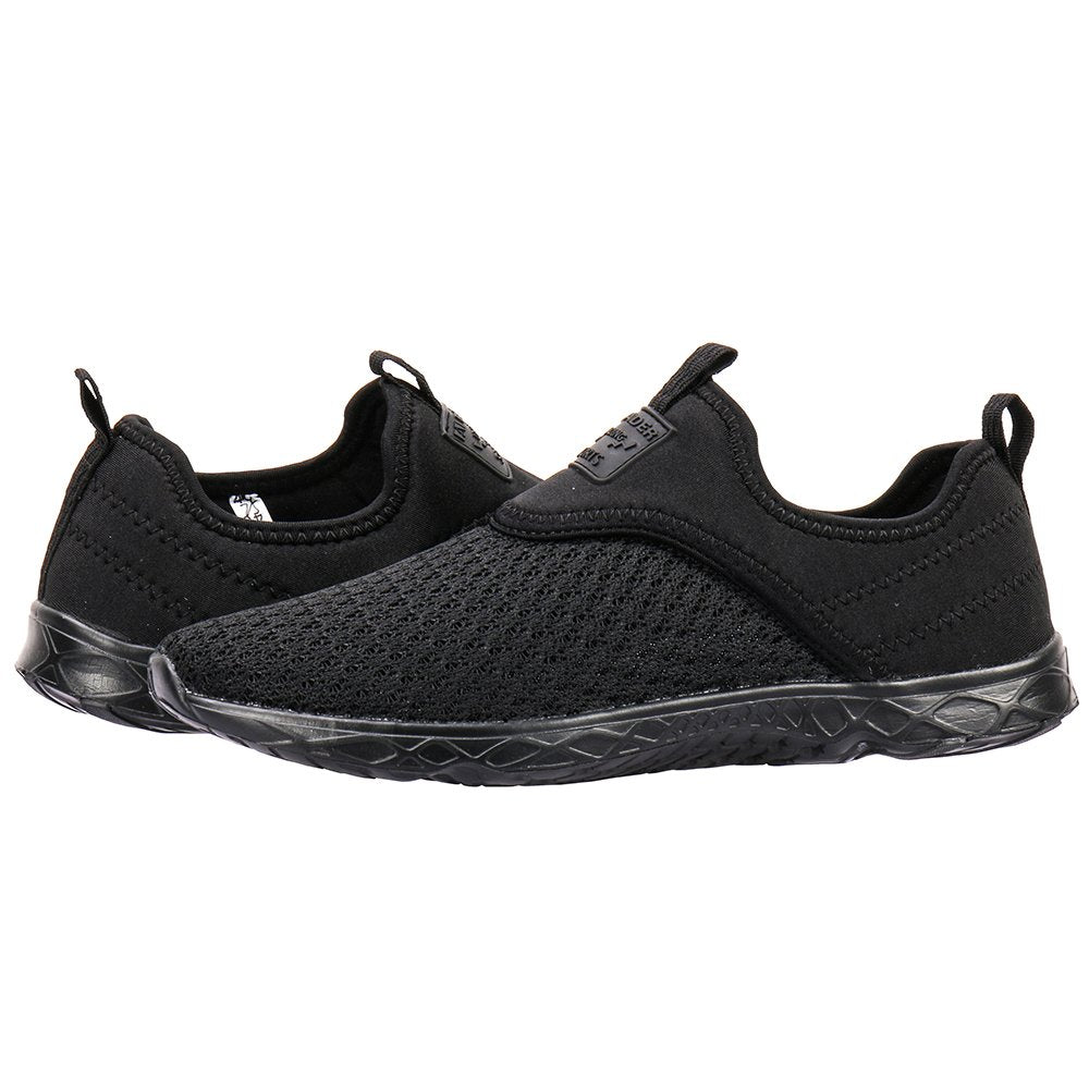 Women's Slip-on Athletic Water Shoes- Black Black