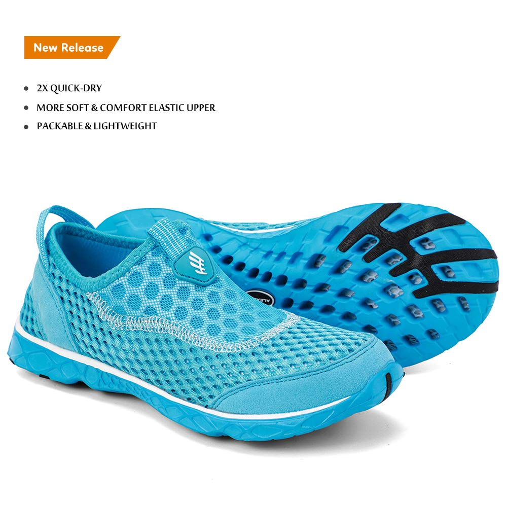 Women's Stylish Quick Drying Water Shoes-Light Blue 209