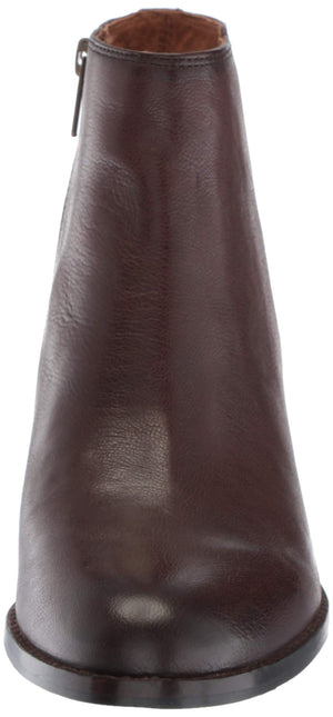 Women's Jolene Inside Zip Short Fashion Boot- Dark Brown